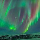Aurora Ridgeline by Aaron Lojewski