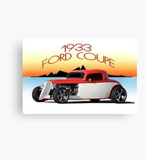 1933 Ford Coupe II Canvas Print