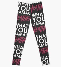 What's Your Damage Heather? Leggings