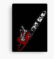 Ash vs Evil Dead chainsaw Canvas Print