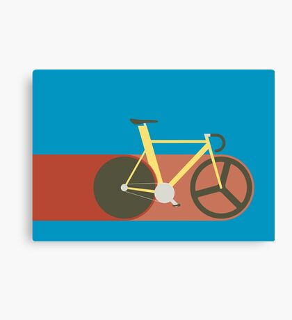 Red Track Canvas Print