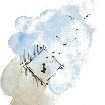 a secret sky in my heart by Saxifraga-Art