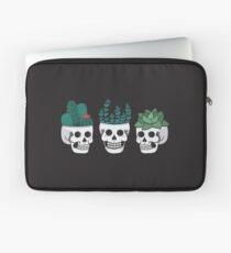 Skull Plants Trio Laptop Sleeve