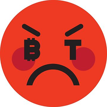 Bitcoin Angry Smiley by Bitcoin-Smiley
