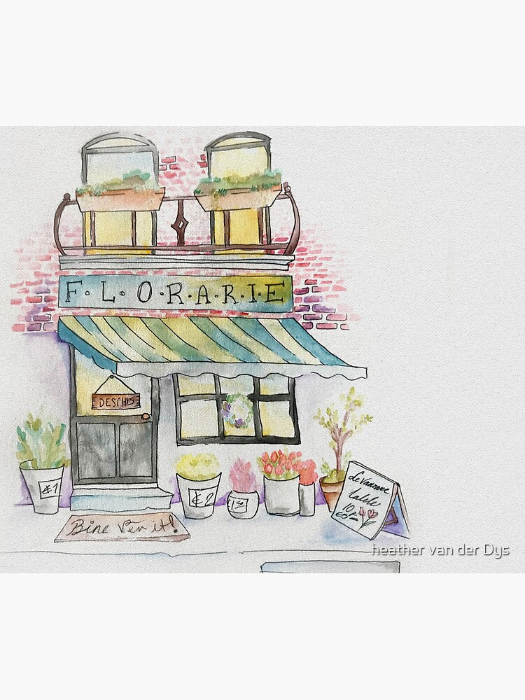 'Florarie' The Florist Shop in Romania by vanderdys