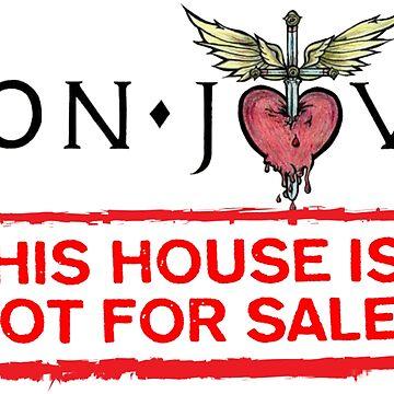 Bon Jovi Tour 2018 This House Not For Sale by carmenmangino