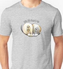 Lhasa Apso Its All About Us IAAU T-Shirt