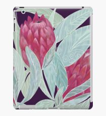 Exotic pink Protea flower pattern iPad Case/Skin