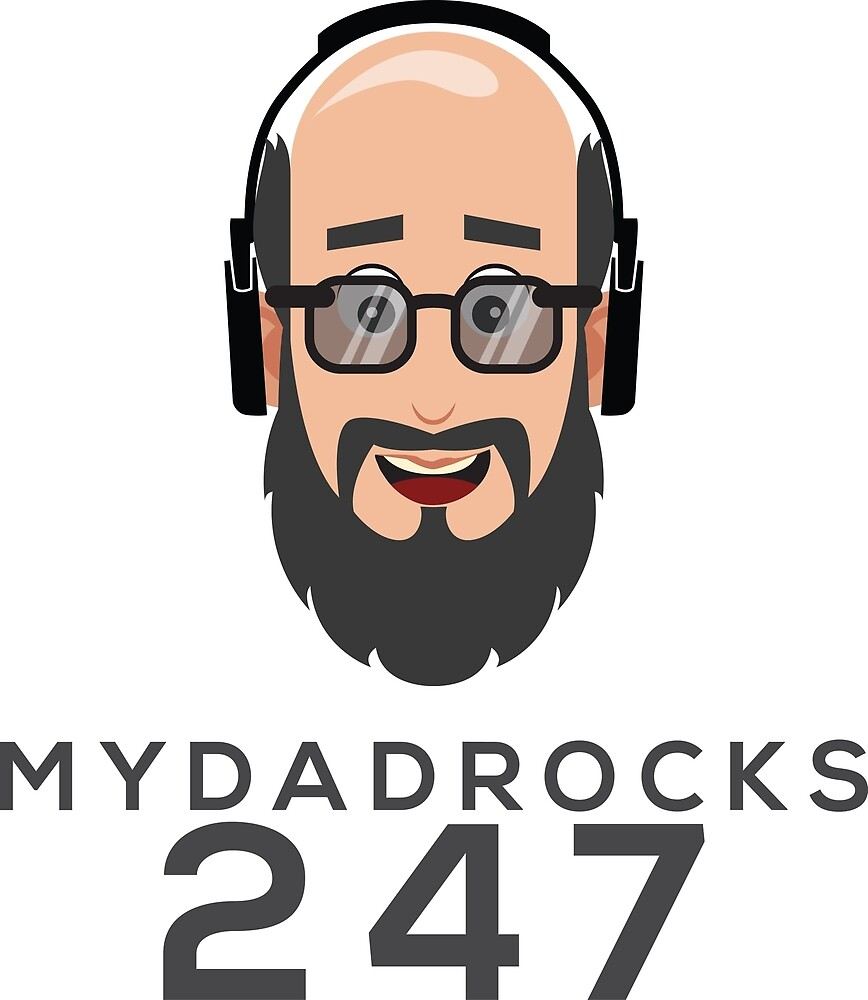 My Dad Rock 24/7 - Headphones by quitegr8