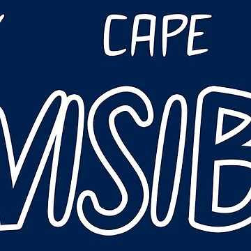 My Cape is Invisible by JCDesignsUK