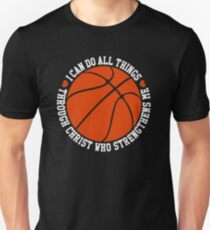 i can do all things  through christ who strengthens me T-Shirt Unisex T-Shirt