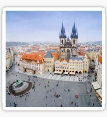 Old Town Square, Prague, Czech Republic Sticker