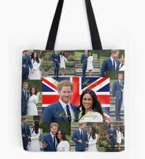 HRH Prince Harry and Meghan Markle Royal Wedding Souvenir Tote Bag