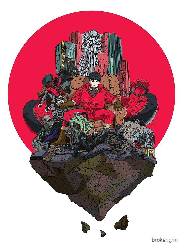 Akira Pop Art by brokengrin