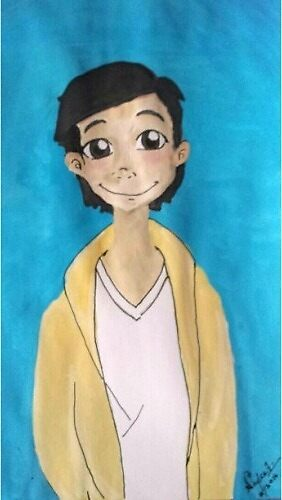 Young Ben Solo by Nadee15
