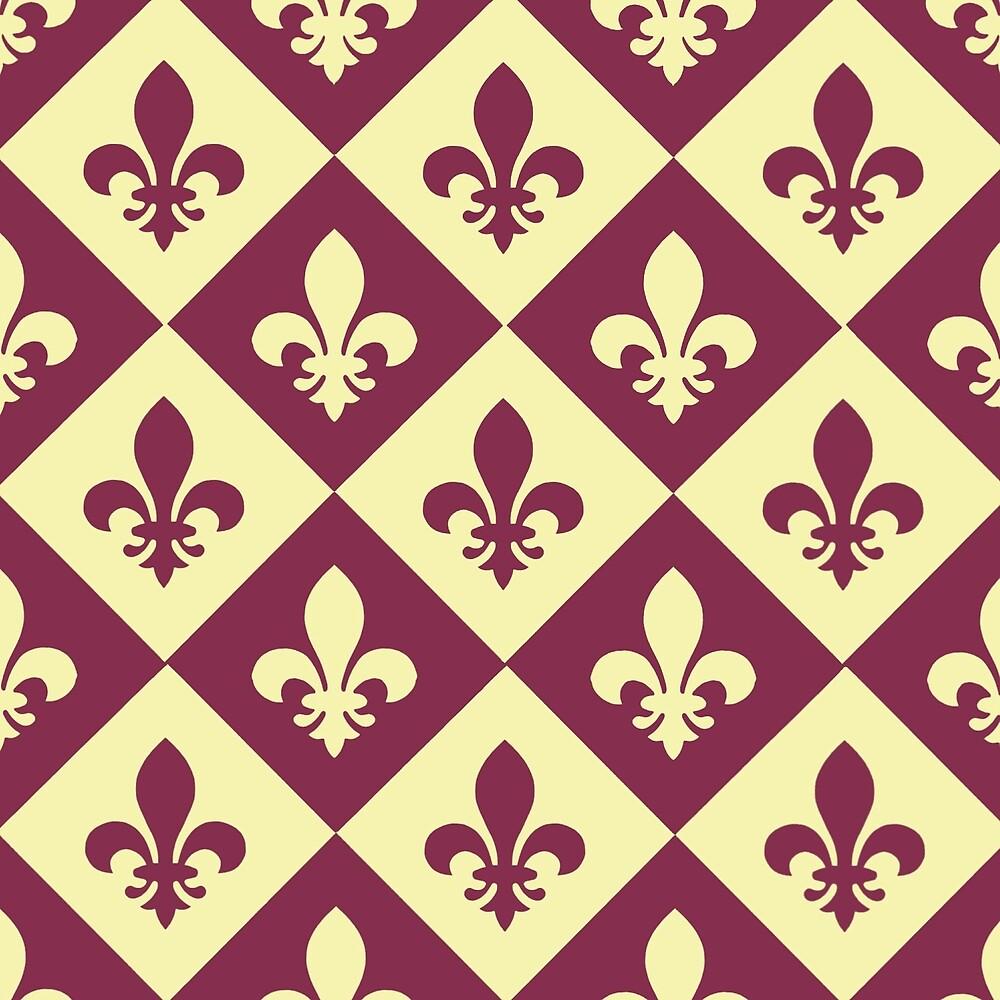 French Burgundy by Jill Vance