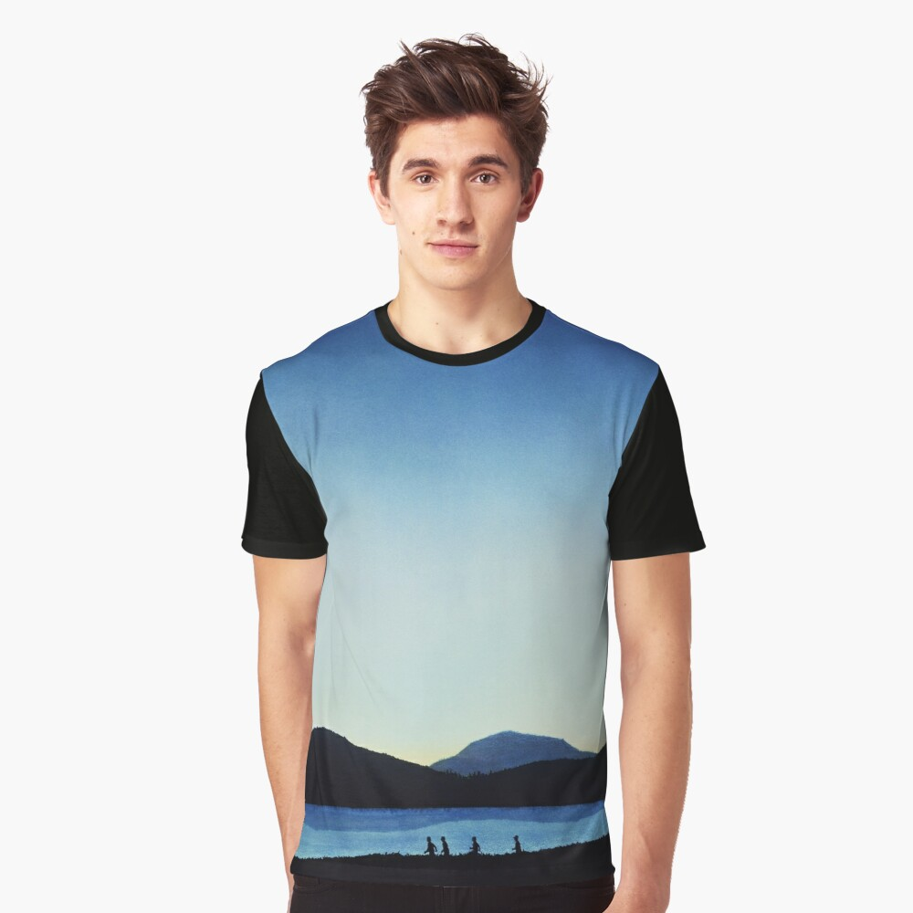 Stand by Me Graphic T-Shirt Front