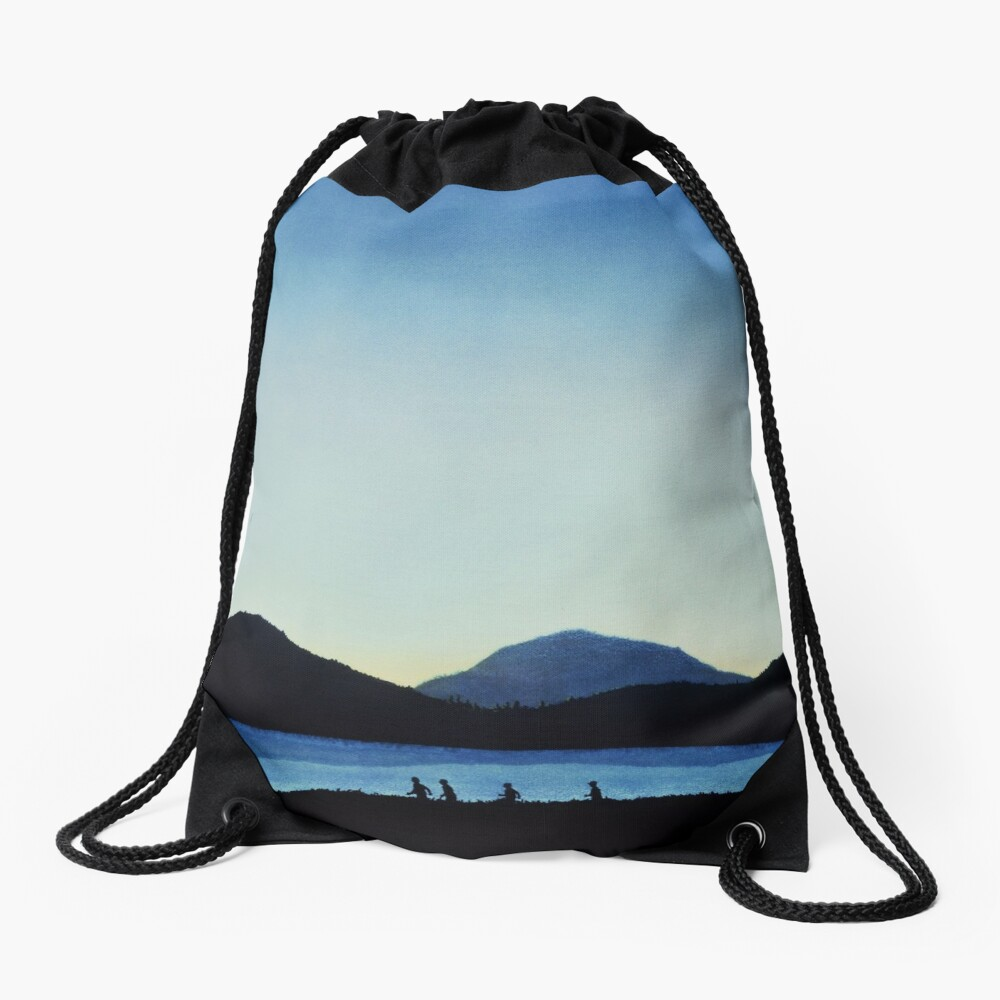 Stand by Me Drawstring Bag