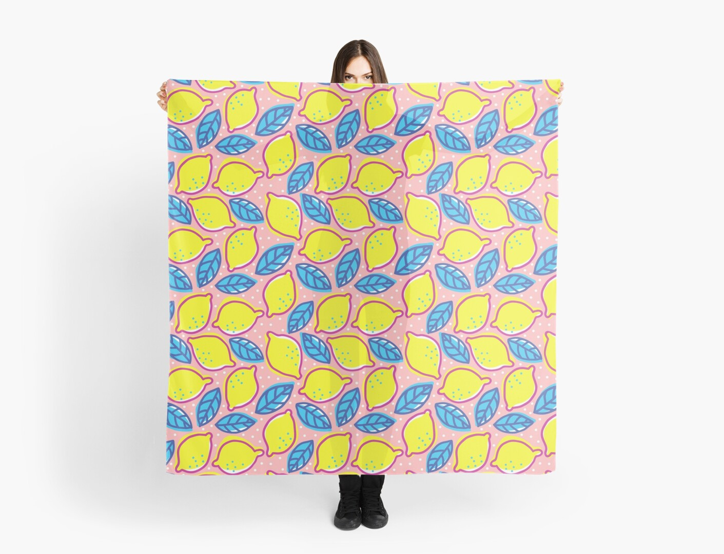Retro pattern with lemons. by SIR13
