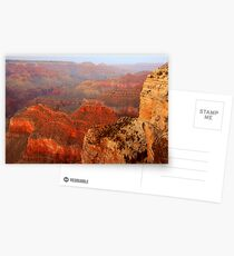 Hopi Point At Dusk, Grand Canyon Postcards