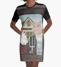 PRETTY PILLOWS Graphic T-Shirt Dress