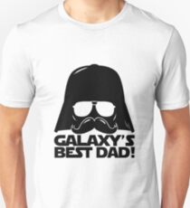 Funny Galaxy's Best Dad Father Statement Gift Birthday, Father's Day, Anniversary for Men Unisex T-Shirt