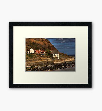 Runswick Bay - North Yorkshire #1 Framed Print