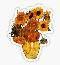 Van Gogh  Glossy Sticker