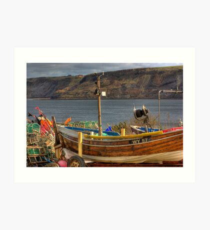 Runswick Bay - North Yorkshire #2 Art Print