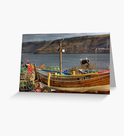 Runswick Bay - North Yorkshire #2 Greeting Card