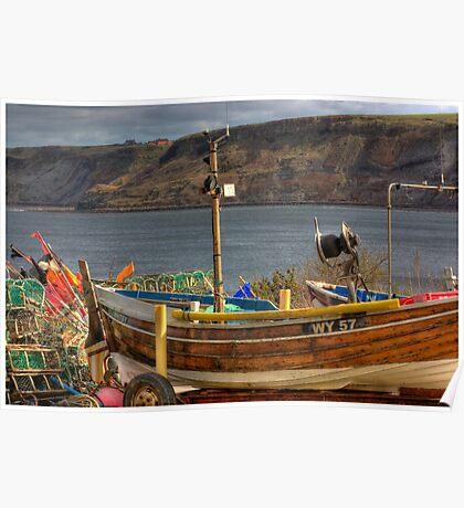 Runswick Bay - North Yorkshire #2 Poster