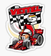 MiniDrivers - # 5 - Vettel Sticker