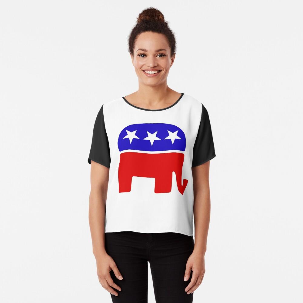 Elefante republicano Blusa