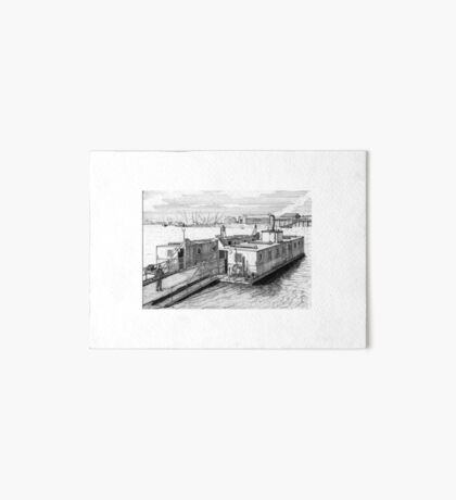 179 - HIGH FERRY, BLYTH - DAVE EDWARDS - INK 1990 Art Board