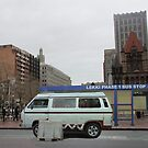 Lekki Phase 1 Bus Stop in Boston by Wonuola Lawal
