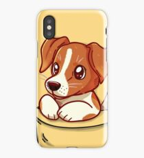 Pocket Cute Jack Russell Terrier iPhone Case/Skin