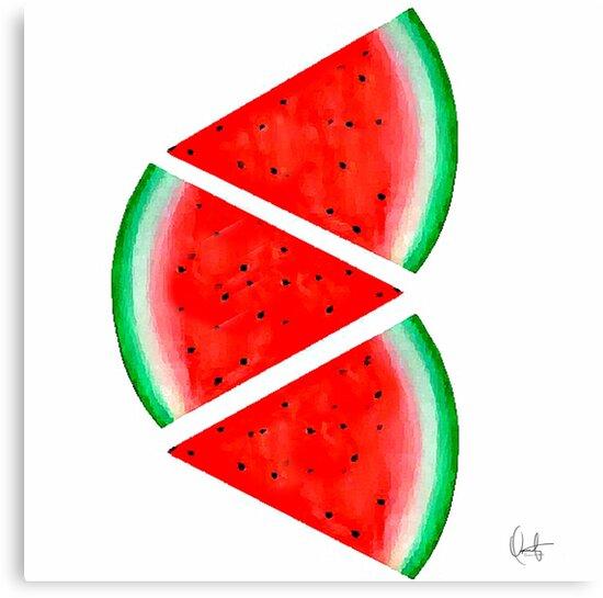 Watermelon Slice by Xchange Art Studio