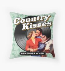 COUNTRY KISSES - REMEMBER COUNTRY Floor Pillow