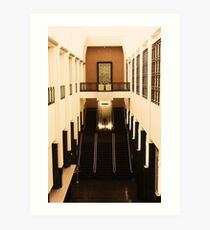 Art Deco Lobby Art Print
