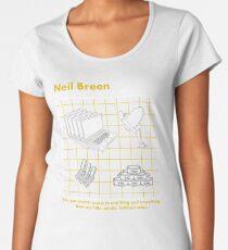 Neil Breen - A Guide to Hacking Women's Premium T-Shirt