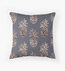Rose Gold Sparkle Pineapple Floor Pillow