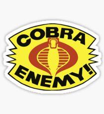 G.I. JOE - COBRA ENEMY! - BLISTER Sticker