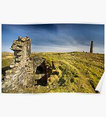 Grassington Moor Lead Mines Poster