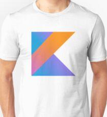 Camiseta unisex Lenguaje de programación Kotlin