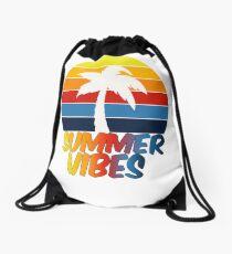 Summer vibes Drawstring Bag