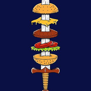 Burger Sword by coffeeman