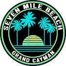 Seven Mile Beach Grand Cayman Islands by MyHandmadeSigns