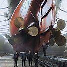 RMS Mauretania, 1909. by Marina Amaral