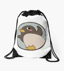 A Place Further than the Universe - Challenge for Antarctic Logo Drawstring Bag