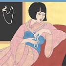 Louise Brooks' Pearls by redqueenself